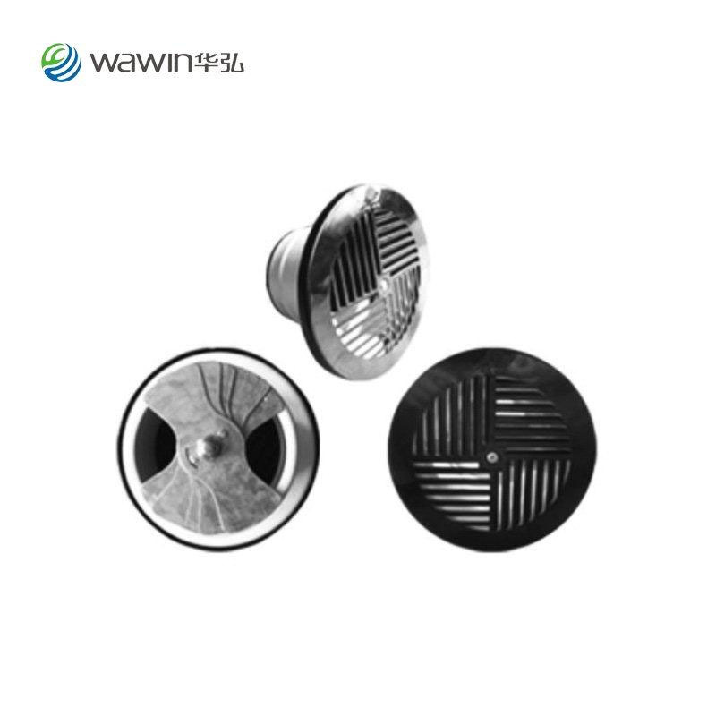 Stepped swirl air outlet / seat air outlet [LFG]