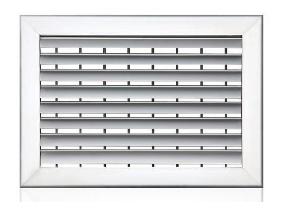 FK-FC,Double Deflection Curved Blade Grille