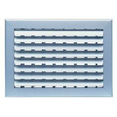 FK-DHB1W,Double Adjustable Deflection Grill(Front Curved Blade)