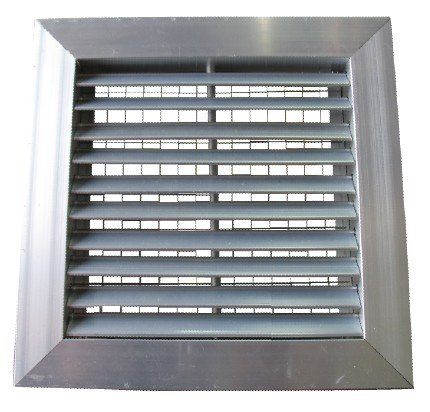 FK-DGB,45 Degree Return Air Grille c/w Bird Mesh
